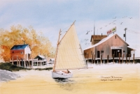 Conjur a Cape Cod Catboat